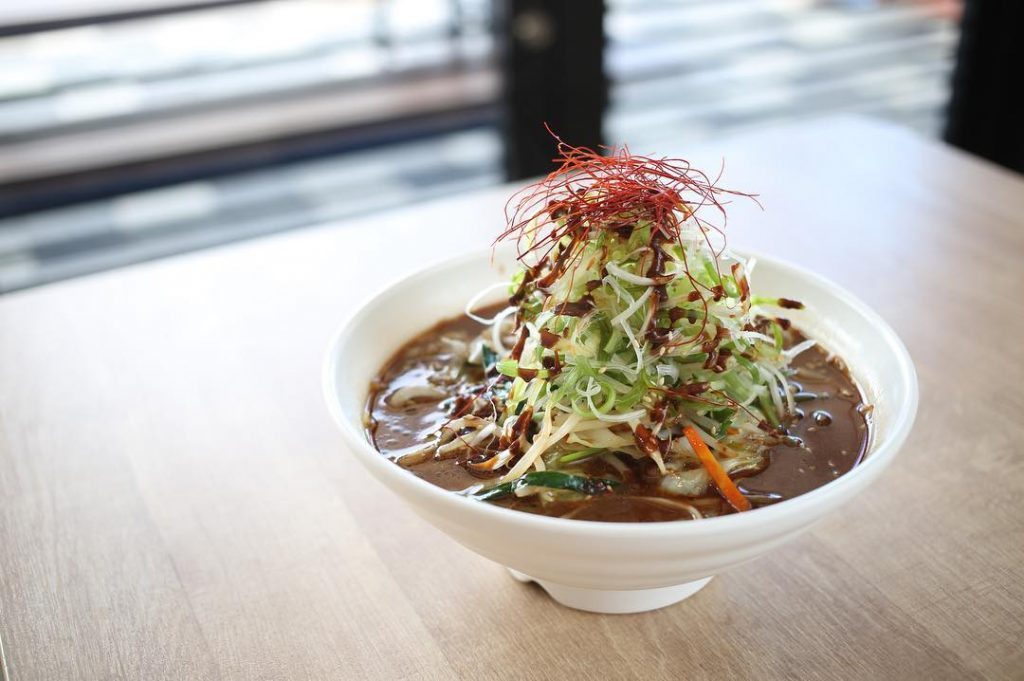 肌寒い日は『八丁味噌野菜ラーメン』