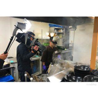 先日テレビ撮影がありました