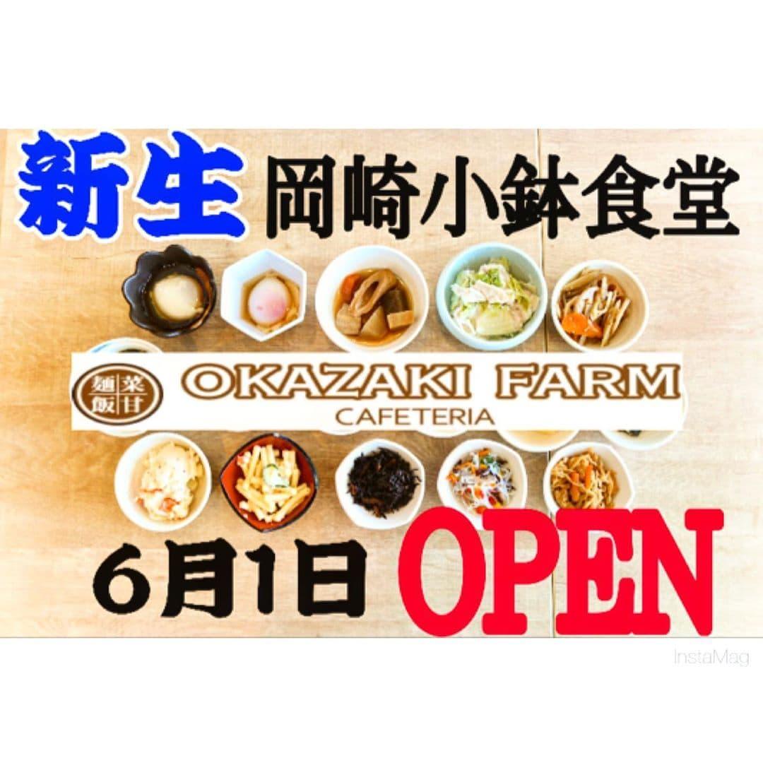 6月1日より新生岡崎小鉢食堂OPEN!!