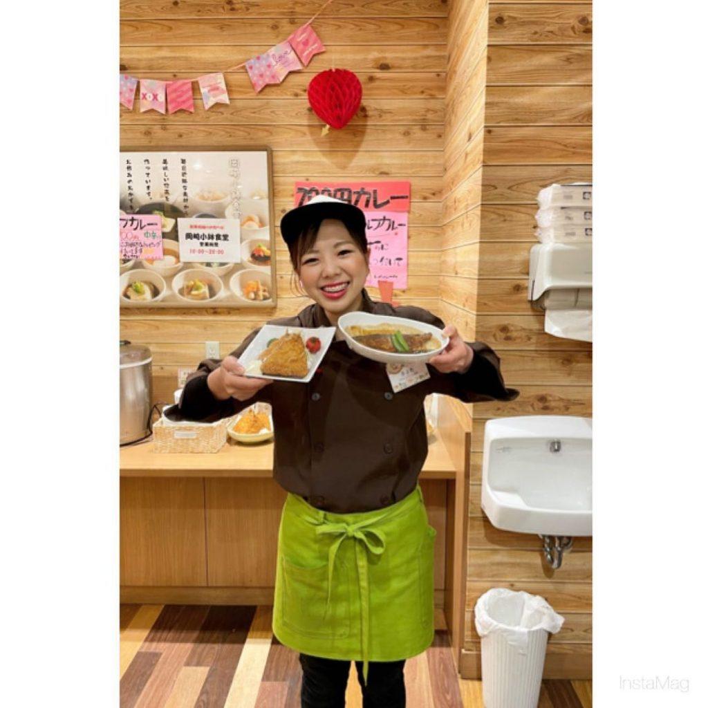 大人気岡崎小鉢食堂の定食💕