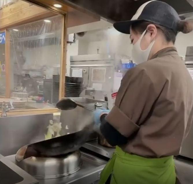 当店大人気の八丁味噌の野菜らーめん🍜